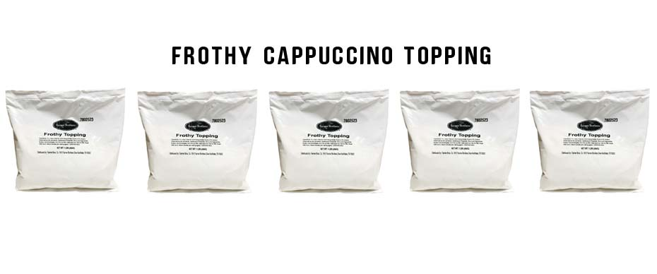 CAPPUCCINO TOPPING