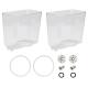 Crathco Double Parts Kit: 5-Gallon Bowl 1288 (2-pack) & Preventative Maintenance Kit (2-pack)